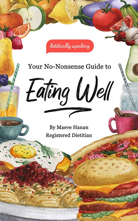 Image of book Your No-Nonsense Guide to Eating Well