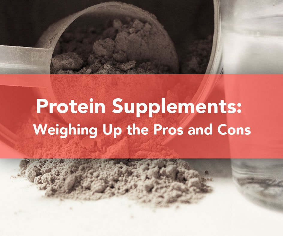 Pros and cons of muscle building supplements