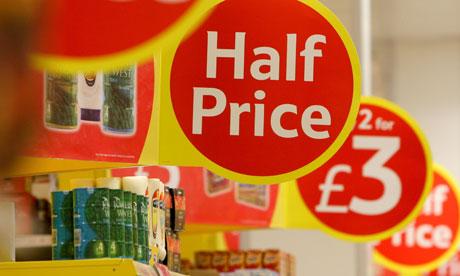Supermarket prices